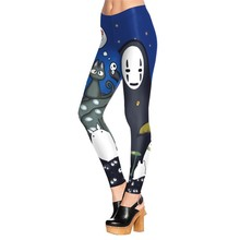 Summer Autumn Legging Cartoon Design Legins Cute Leggins Printed Women Leggings Woman Pants KDK1517