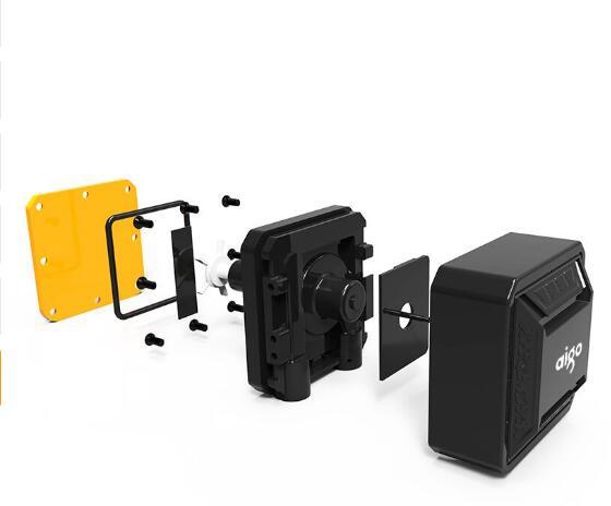 Aigo darkflash T120/240 pc cas de l'eau de refroidissement ventilateur d'ordinateur CPU intégrée de l'eau de refroidissement Refroidisseur Pour LGA 775/115x /AM2/AM3/AM4 - 6