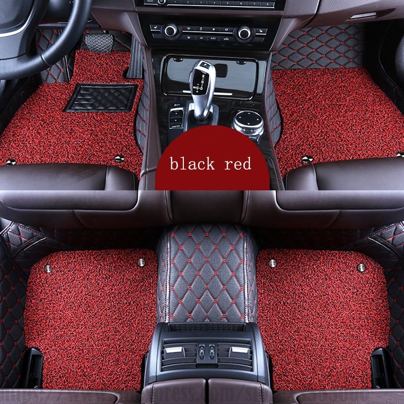 XWSN Personalizzato tappetini auto per SEAT tutti i modelli LEON Ibiza Cordoba Toledo Marbella Terra RONDA styling auto Auto tappeto Auto parts