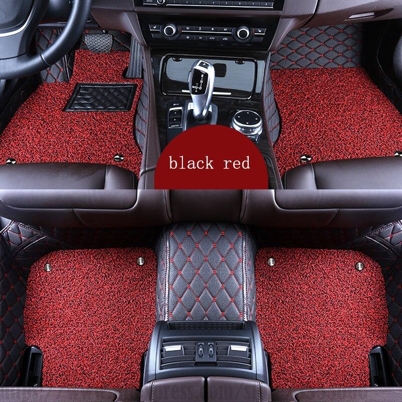 XWSN alfombras personalizadas para asiento todos los modelos LEON Ibiza Córdoba Toledo Marbella Terra RONDA coche alfombra auto partes
