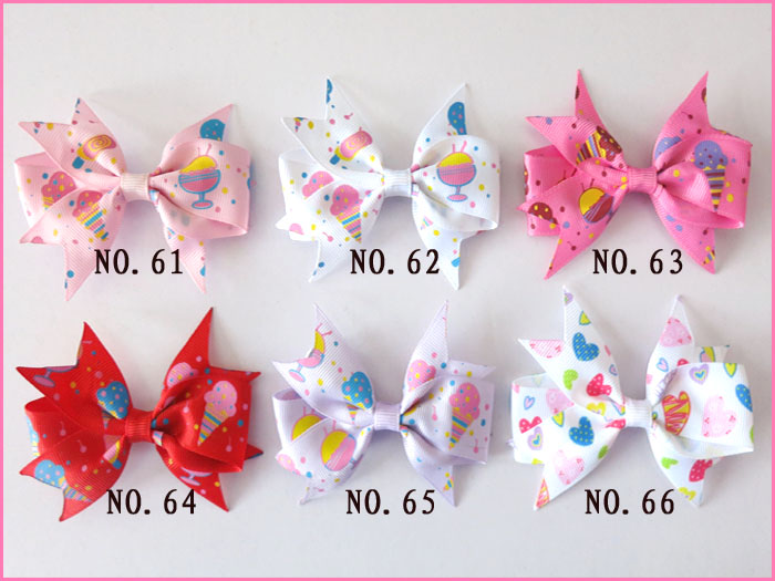 """Mermaid Hairbow Clip #248 Wholesale Baby 300 BLESSING Good Girl Boutique 3.5/"""" A"""