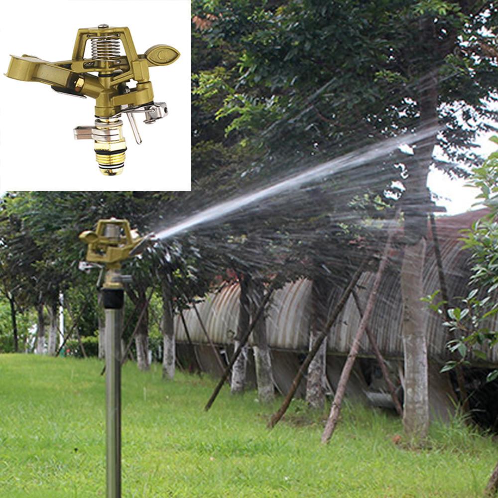 Sprinkler Garten Rasen Bewässerung Bewässerung Spray Kopf Rasen Begrünung Garten Bewässerung Boden 360° Rocker Düse