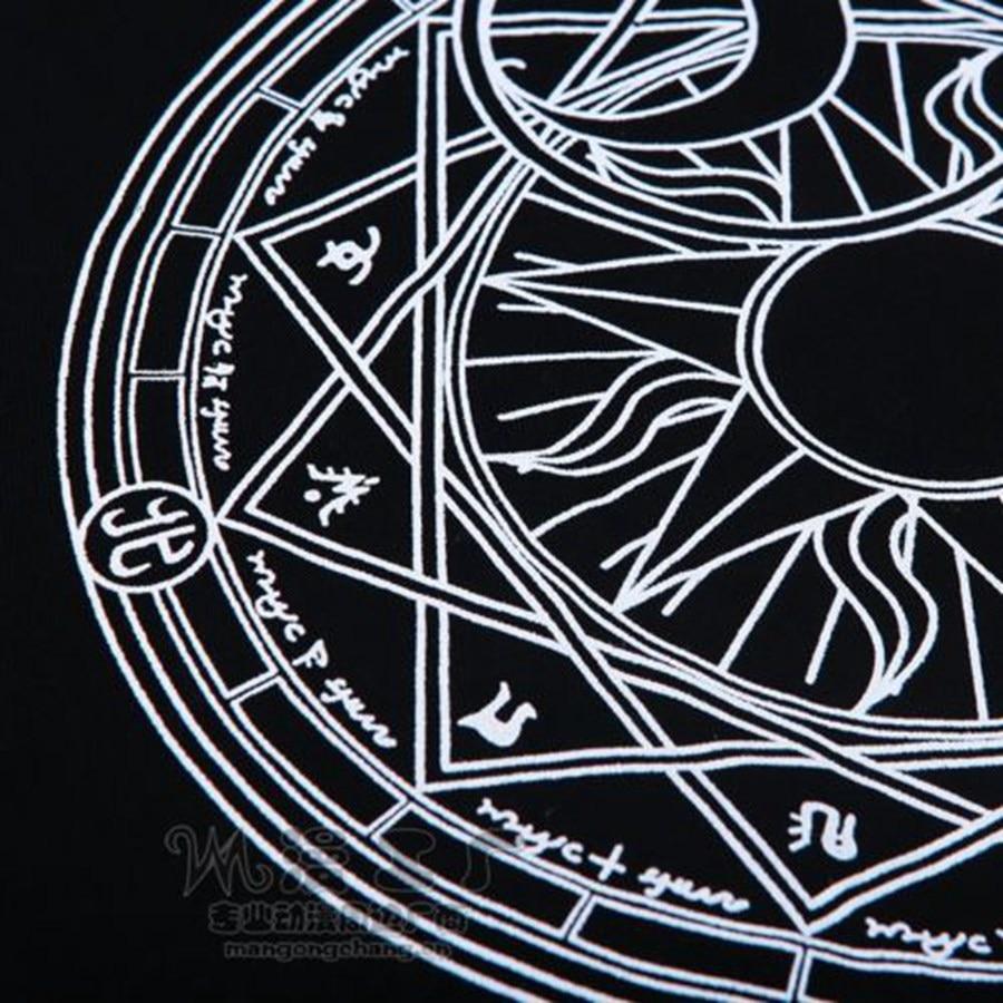 aliexpress com buy anime black t shirt for card captor sakura