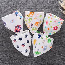 Baby Bibs High Quality Triangle Towel Feeding Baby Soft Burp Cloths Toddler Smock Animal Print Baby Bandana Bib Baby Accessories cheap Bibs Burp Cloths 2-3Y 7-9M 4-6M 19-24M 0-3M 10-12M 13-18M Unisex Fashion cartoon CZM660 COTTON Support Antifouling Gift
