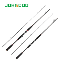 JOHNCOO NEW Raft Rod M Power 1.8m Boat Rod Spinning/Casting Type Pole Lure Fishing Rod High Quality Carbon Fiber Fishing Rod