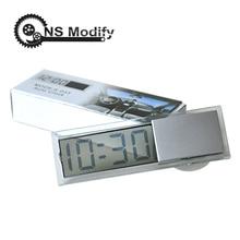 NS Modify TOP Quality Mini Digital Car Electronic Clock Mini
