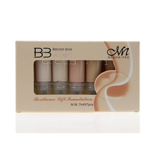 Professional 7 Color Brand Makeup Studio Face Body Foundation Liquid Real Concealer Cream Base Beauty Cosmetic