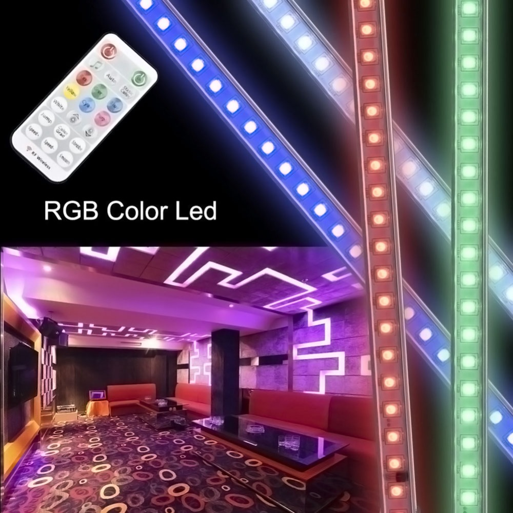 Led Bulbs & Tubes 5w Rgb Changeable Led Bulb Lamp 16 Color 24 Key Ir Remote Control Light Cleaning The Oral Cavity.