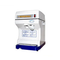 YUNLINLI 220V Ice Crusher Commercial Use Block Shaving Machine Smoothies Machine CJ 186
