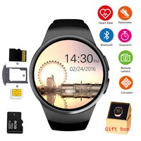 KW18 Bluetooth Smart Watch Phone Full Screen Support SIM TF Smartwatch Heart Rate for IOS iPhone Android Samsung Xiaomi PK KW88