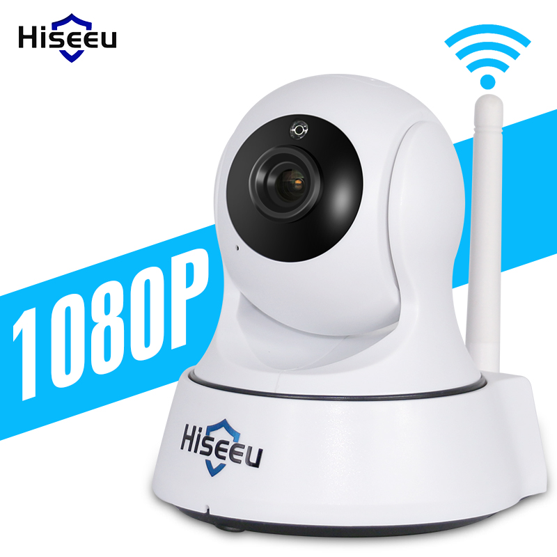 Mini Wireless IP Camera Wifi 1080P Smart Night Vision Surveillance Onvif Network CCTV Security Camera wi-fi hiseeu baby monitor