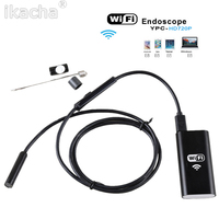 1 2 5m 8 5mm Wireless Wifi Endoscope Android Camera Borescope HD 720P Waterproof Inspection For