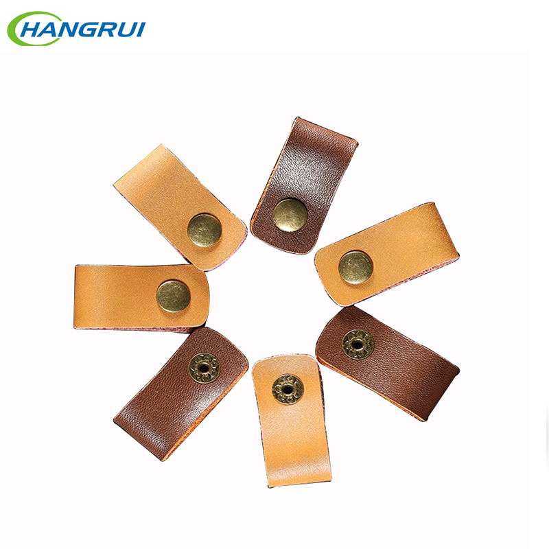 1 Pcs Leather Earphone cable clamp Cable ties Cable Button headset Accessories Ues For iphone 7 huawei mate 9 Earphone Cable