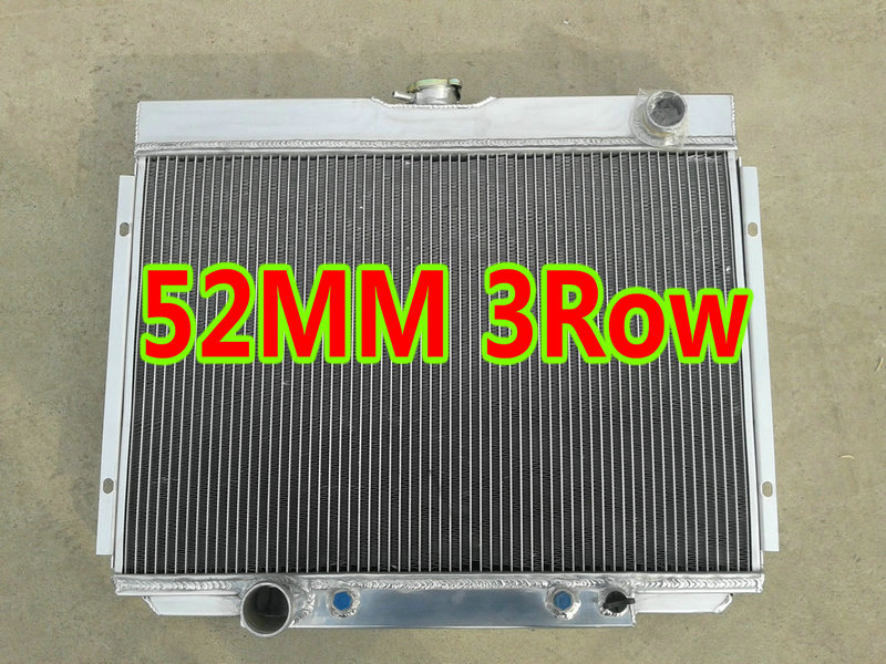 3 Rows All Aluminum Radiator Fit 1967-1970 Ford Mustang 390 428 429 V8 ENGINE