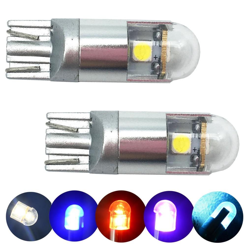 10ks T10 194 168 W5W 3030 3 SMD Car LED LED T10 3 LED Car SPZ zvýraznění Light Bulb jádro auto styling světlo parkování čtení