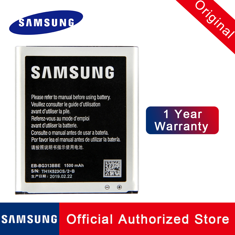 Original Replacement Battery EB BG313BBE For Samsung Galaxy Ace 4 LTE Ace NXT Mobile Phone Batteria Akku 1500mAh fast shipping in Mobile Phone Batteries from Cellphones Telecommunications