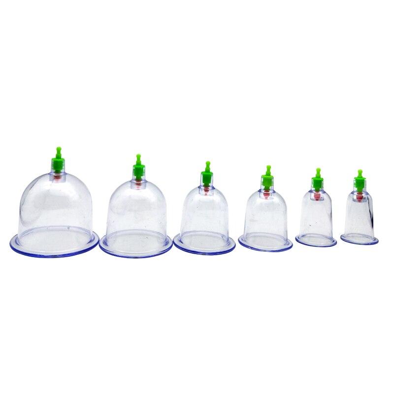 Vakuum Dosen Set Massager Dosen Massage Gläser Schröpfen Set Chinesische Akupunktur Physikalische Vakuum Therapie Maschine Saugnäpfe Massage