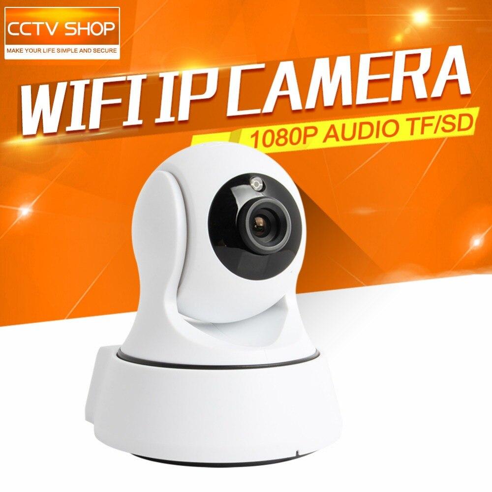 Buy Mini HD 1080P WIFI IP Camera Wireless PTZ IR-CUT Night Vision Two Way Audio CCTV Security Smart Camera 2MP P2P APP CAM360 View