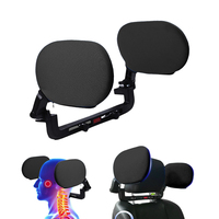 Car Headrest Sleep Seat Both Side Head Support Neck Pillow Back Cushion Breathable Comfortable Car Accessories for Children Adul