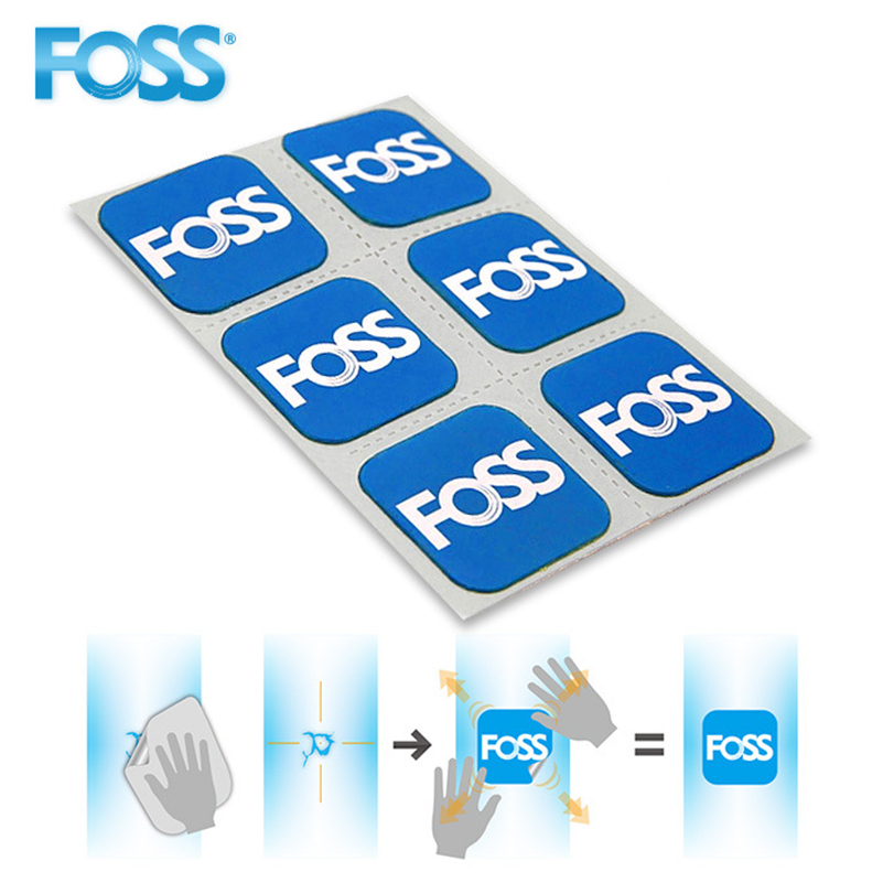 FOSS 6pcs/pack Bicycle Inner Tire Patch Quick Drying Without Glue MTB Mountain Road Bike Tire Patch Chip Cycling Accessories(China)