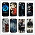 Горячий Новый сверхъестественное белый Hard Back Case Cover for iphone 4 4s 4g Бесплатная доставка