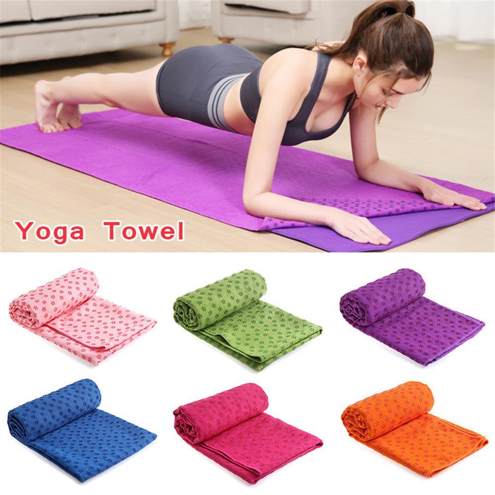 Travel Yoga Mat Or Towel: Aliexpress.com : Buy Yoga Towel Mat 183*63cm Silica Gel