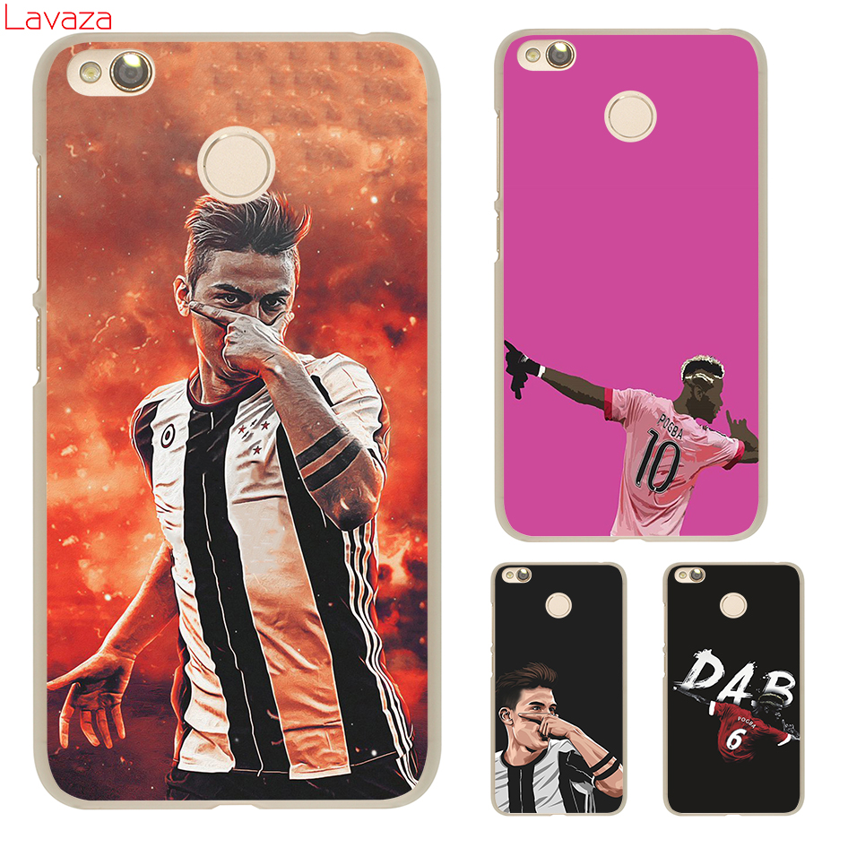 Lavaza Lavaza Paul Pogba Football Soccer Hard Cover Case for Xiaomi 6 5 5s Plus Redmi 3 4 Pro 4 Prime 4A Note 2 3 Pro 4 4X