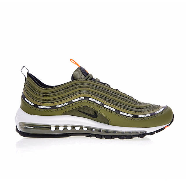 super popular c2b2a 1b745 Nike Air Max 97 OG x Undefeated Olive Men's Breathable Running Shoes  Outdoor Sneakers Sports 2018 New Desinger AJ1986-300