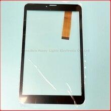 "Negro pantalla táctil de 8 ""pulgadas, 100% Nuevo para Irbis TZ90 panel táctil, Tablet PC de panel táctil digitalizador"