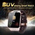 Smart Watch DZ09 для IOS Android Iphone Камеры Bluetooth Наручные Часы Smartwatch Телефон PK GT08 Поддержка Нескольких языков WhatsApp
