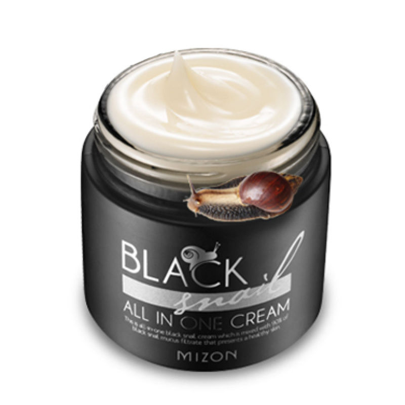 MIZON Black Snail All In One Cream 75ml Repair Cream Deep Moisturizing Anti-wrinkle Remover Acne Snail Face Cream Korea Cosmetic комбинезон awama комбинезон