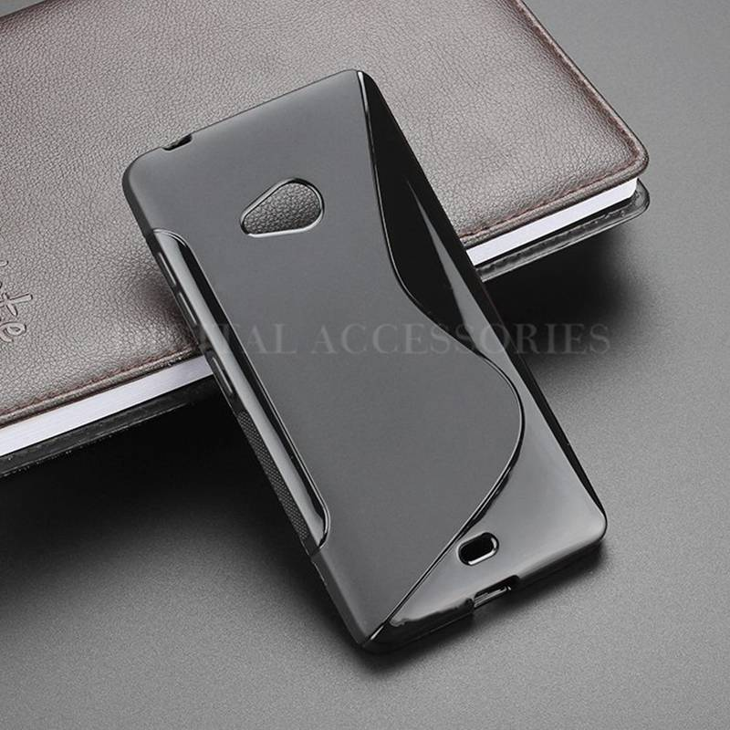 7 Color S-Line Anti Skidding Gel TPU Slim Soft Case Back Covs