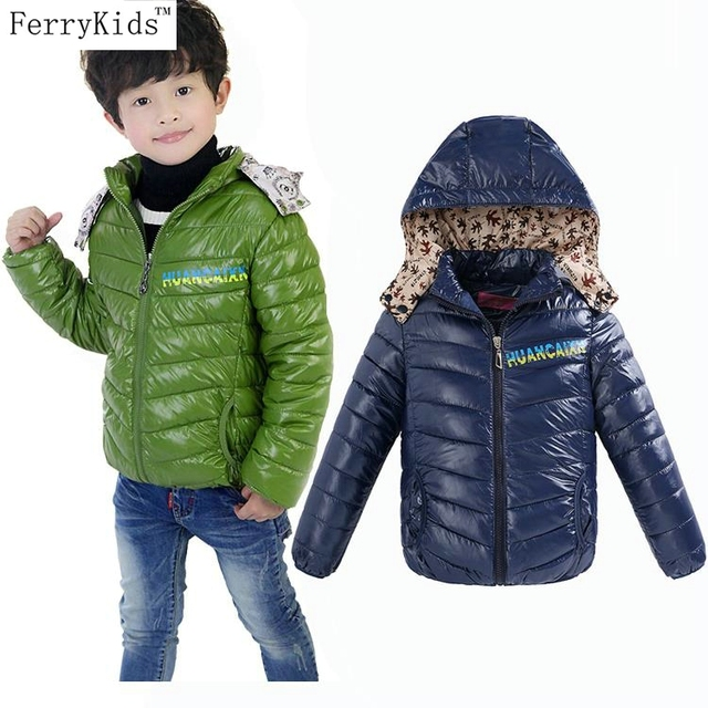 New Warn Children Winter Coat Jackets Outwear Kids Winter Coats Warn Hooded Jackets For Boys Child Clothing snowsuit 2015