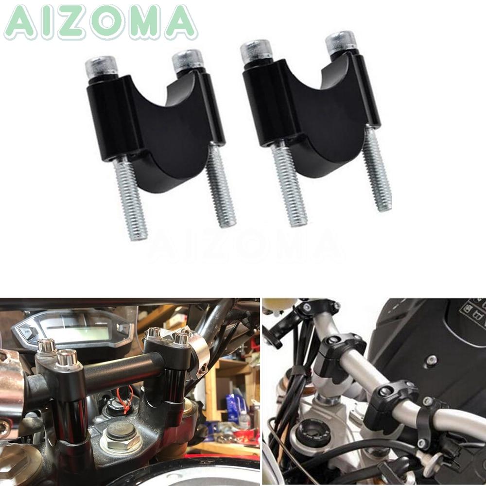 Universal CNC 22/28mm Handlebar Riser Motorbike 7/8