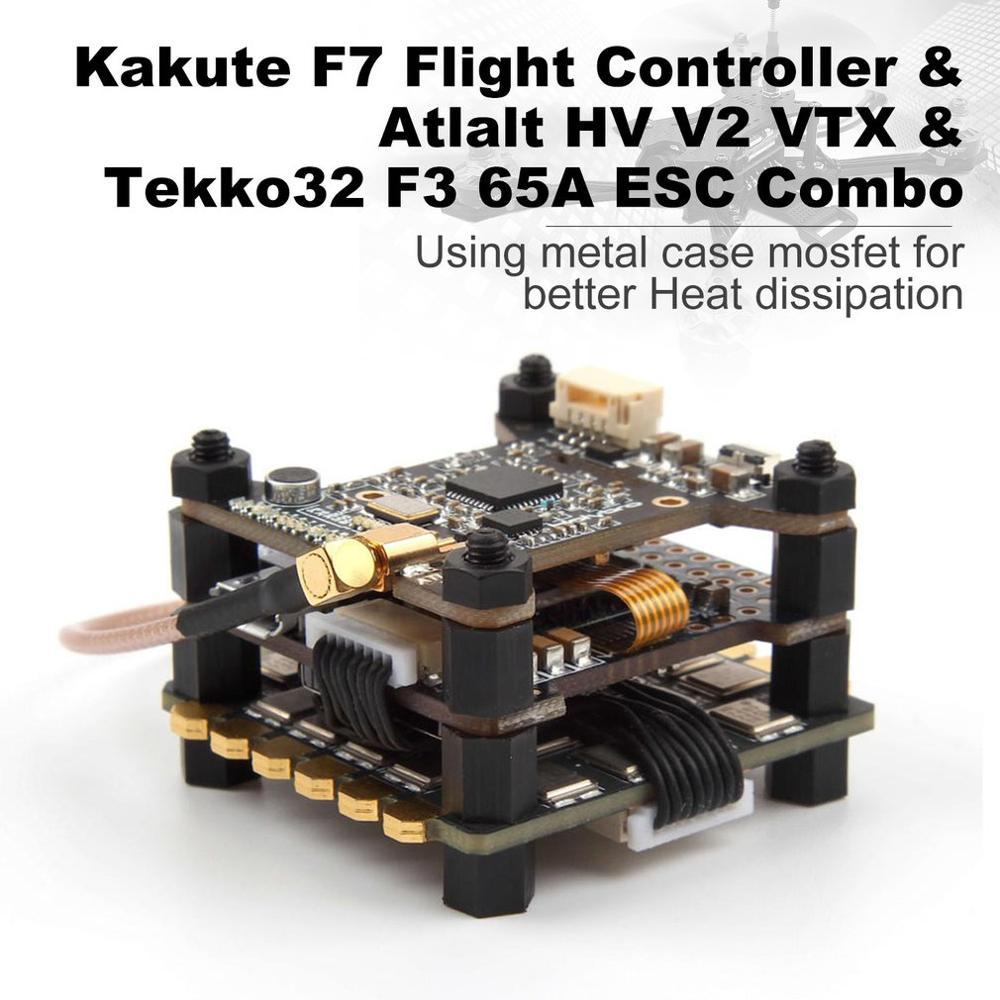 Holybro Kakute F7 Flight Controller & Atlalt HV V2 40CH VTX & 65A BL_32 Tekko32 F3 Metall 4in1 ESC Combo für RC Drone-in Teile & Zubehör aus Spielzeug und Hobbys bei  Gruppe 3