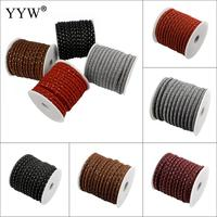 20m Spool 7x5mm Rope Cloth Cord With Plastic Spool For Jewelry Making Diy Bracelet Necklace Accessories