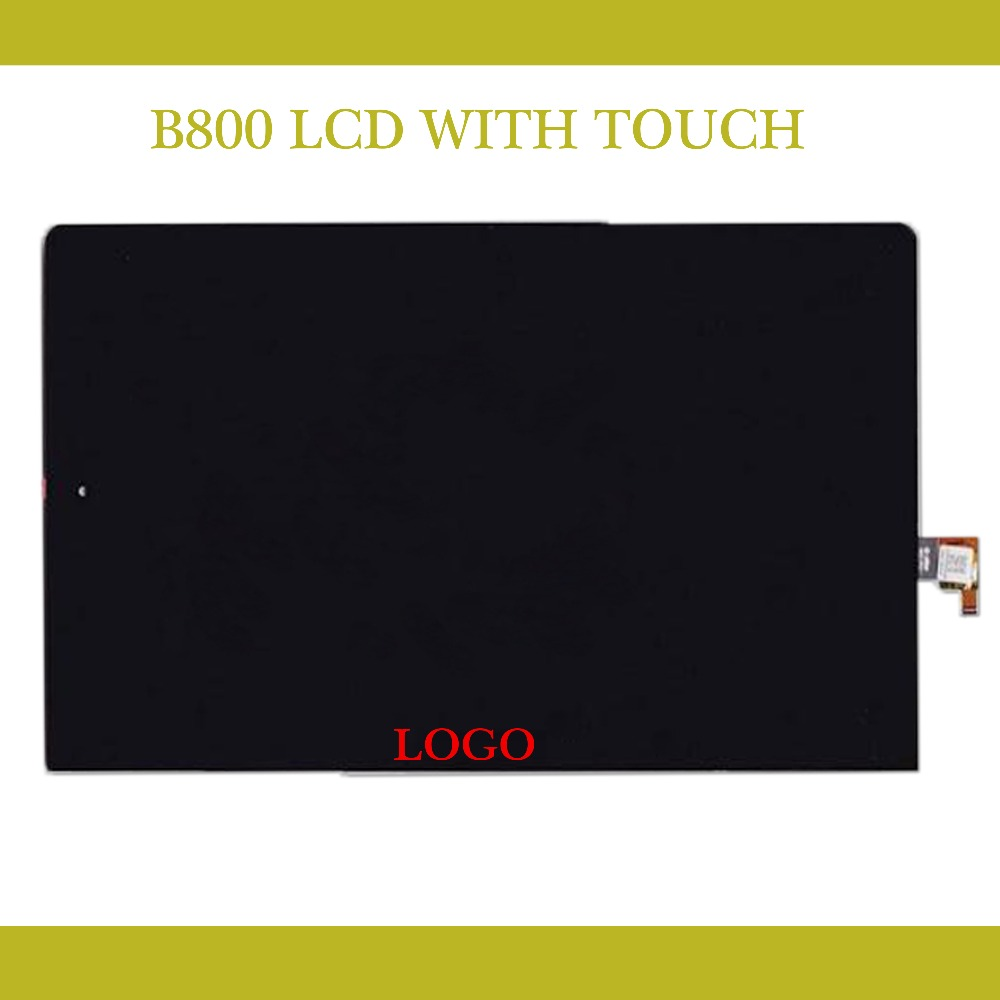 Original 10.1 Lcd For lenovo yoga tablet 10 B8000 LCD Screen Display With Touch Digitizer Glass Full Assembly 10 1 lcd touch tablet screen digitizer glass display assembly replacement pocketbook for lenovo yoga tablet 2 1050 1050l 1050f