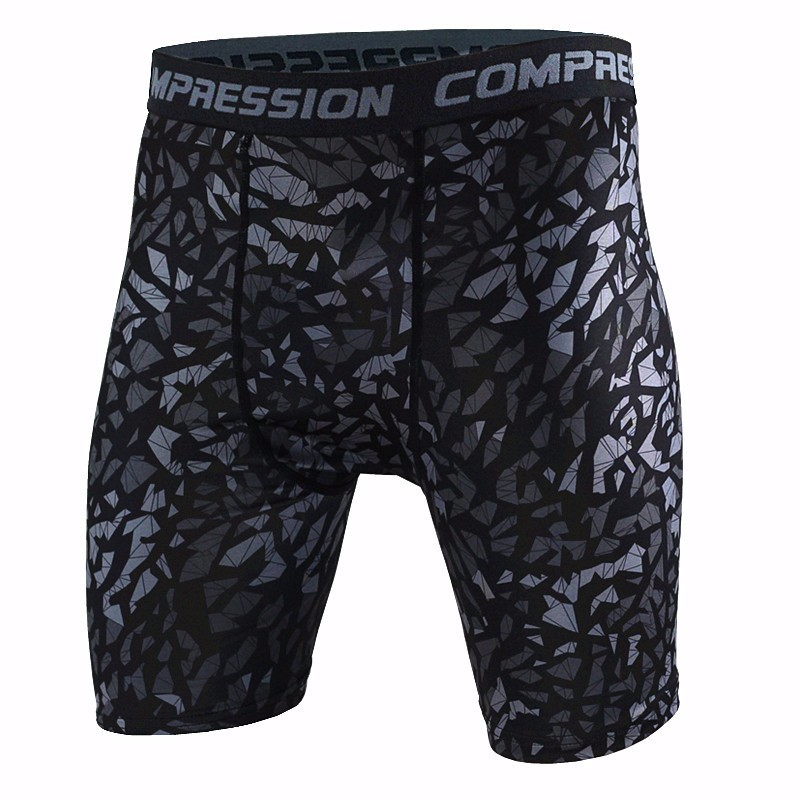 Mens Compression Shorts Summer Camouflage Bermuda Shorts Fitness Men Cossfit Bodybuildin ...