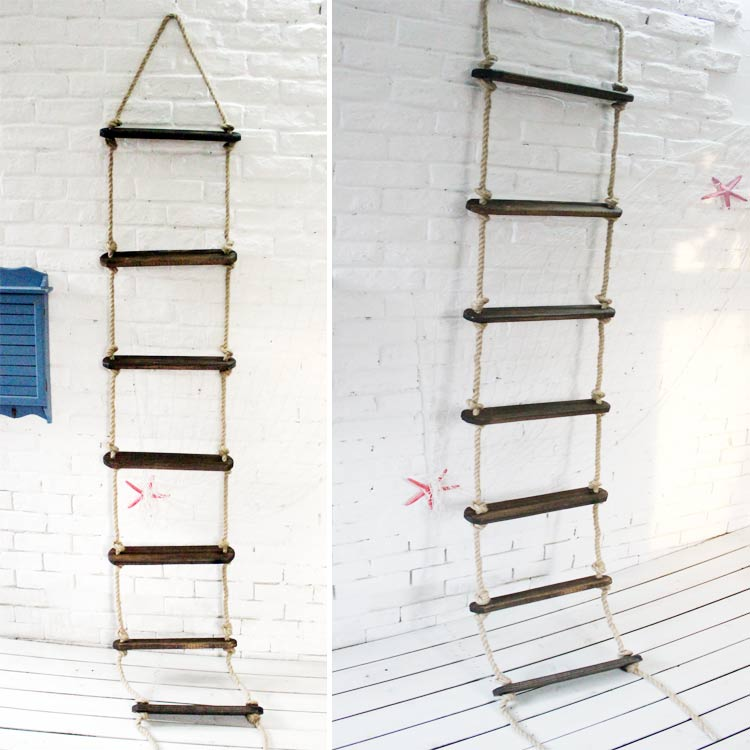 Rope Ladder Decoration Ladder Bar Decoration Partition Diy