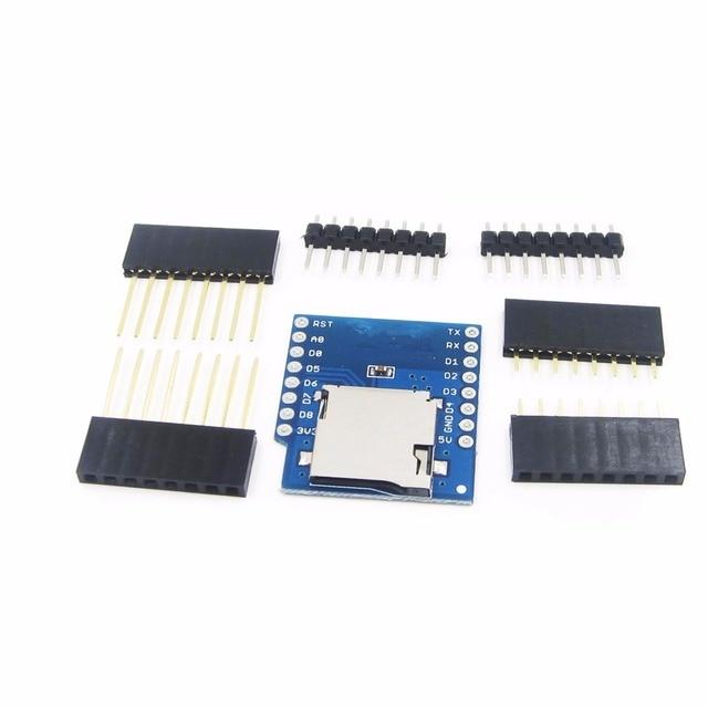 Micro SD Card Shield IoT Wireless Control for D1 Mini ESP8266 WiFi WeMos Module