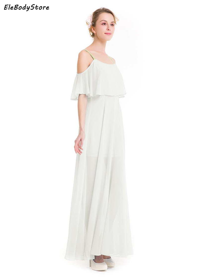 6e6107f959a35 Summer Beach Maxi Dress Women Long Dress 2017 Vestidos Chiffon White Sexy  Off Shoulder Plus Size Casual Dresses Evening Party