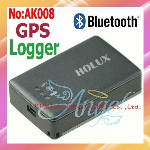 Wholesale HOLUX M-1000C Rechargeable Bluetooth Car GPS Receiver, GPS Data Logger Travel Recorder  #AK008