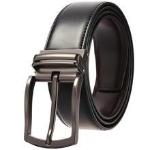 2019 Designer Belts Good Quality Genuine Leather Belt For Men Business Men Belt Alloy Pin Buckle Vintage Jean Cintos Belt stylish alligator pattern alloy pin buckle belt for men
