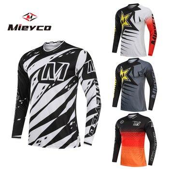 Verano Moto bicicleta de montaña camiseta de motocross maillot ciclismo hombre BMX...