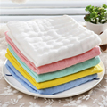 0-3 Baby Newborn Baby Towel Cotton Handkerchief Soft Cartoon Solid 3/5 Pcs Cute Wipe Care For Newborns Towels For Babies 70A0170