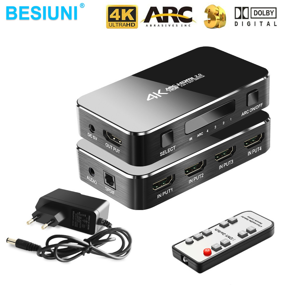 top 9 most popular hdmi switcher audio output list and get
