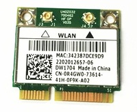 SSEA NEW Wireless Card For BroadCom BCM43142 BCM943142HM for DELL DW1704 Half Mini PCI-E Wifi Bluetooth 4.0 Card 300Mbps