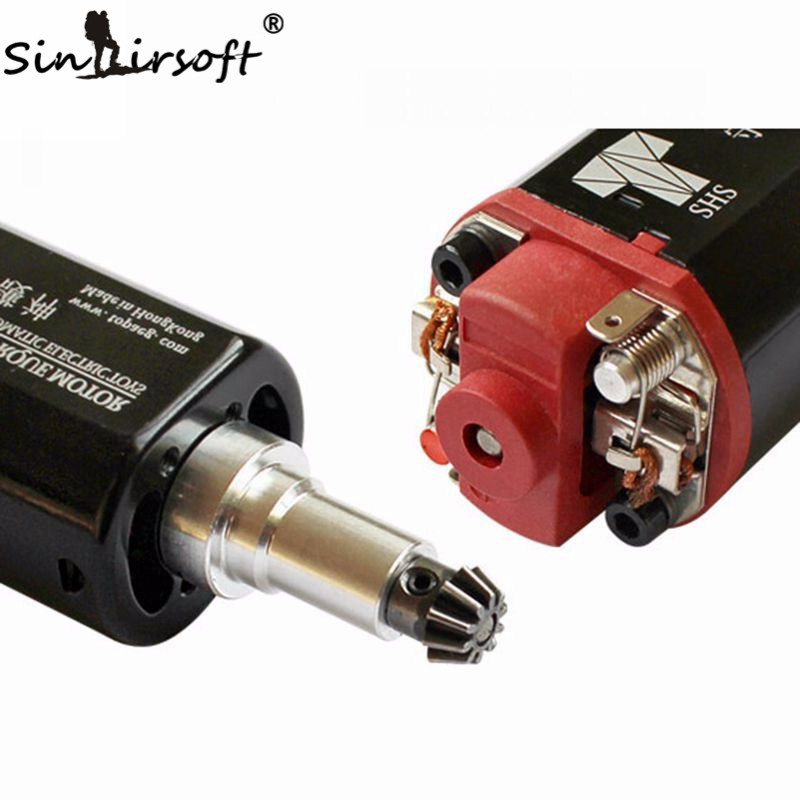SHS Toys High Torque AEG Motor Long / Short Axle type for Airsoft SCAR P90 G3 M4 M16 AK PTS ACR G36 AUG Ver.2 Ver.3/7 Gearbox