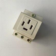 AC30 Level 4 socket  Guide rail type 4Pins Extention Distribution Box Power Socket 16A 250V Modulus socket