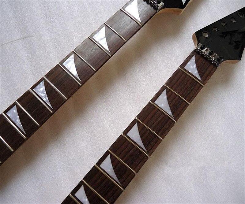 disado 22 Frets Electric Guitar թխկի պարանոցի - Երաժշտական գործիքներ - Լուսանկար 2